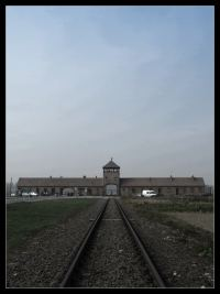 Wjazd do Auschwitz II